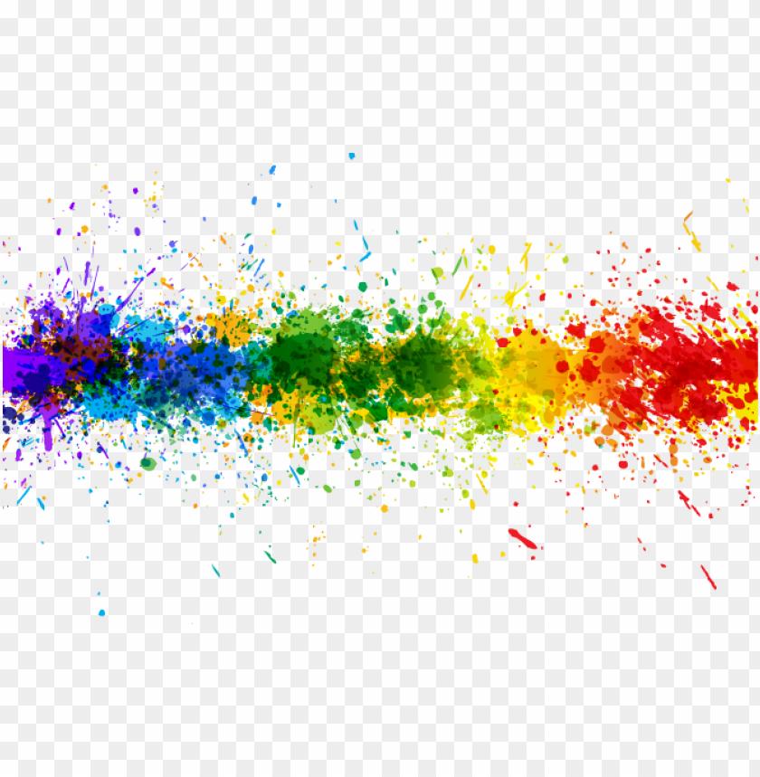 free PNG transparent rainbow splash line background - transparent color splash PNG image with transparent background PNG images transparent