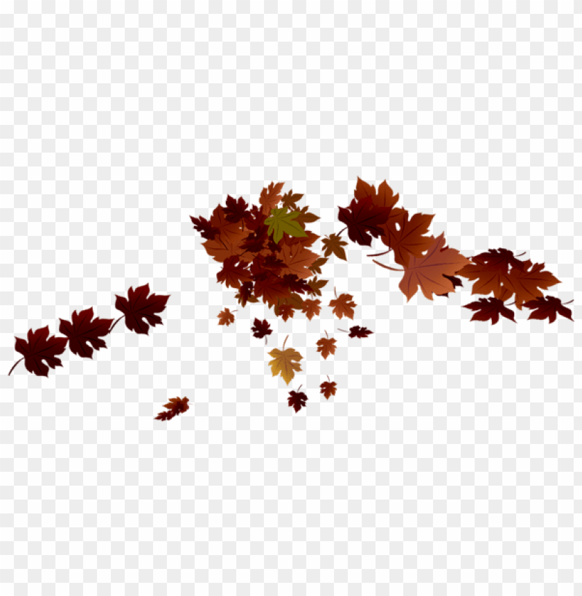 free PNG Download transparent red fall leaves clipart png photo   PNG images transparent
