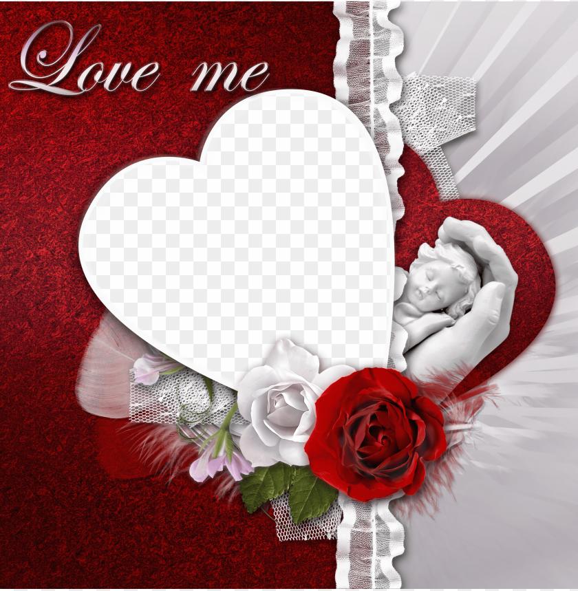 free PNG transparent romantic frame love me background best stock photos PNG images transparent