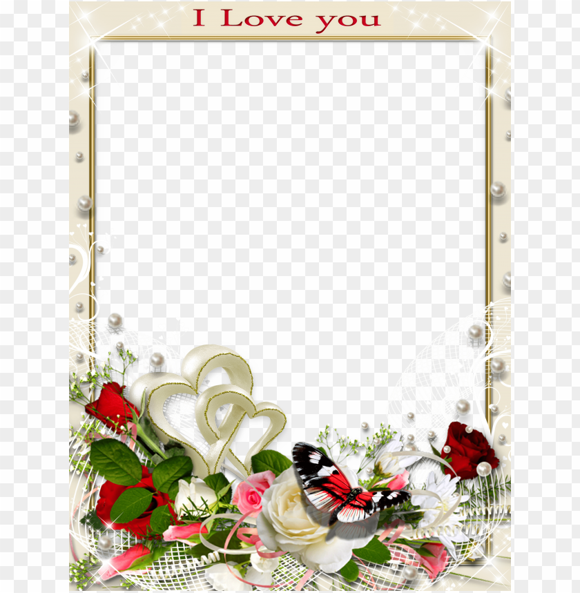 free PNG transparent romantic frame love you background best stock photos PNG images transparent