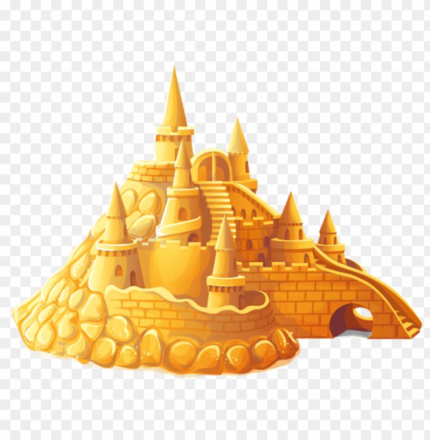 free PNG Download transparent sand castle clipart png photo   PNG images transparent