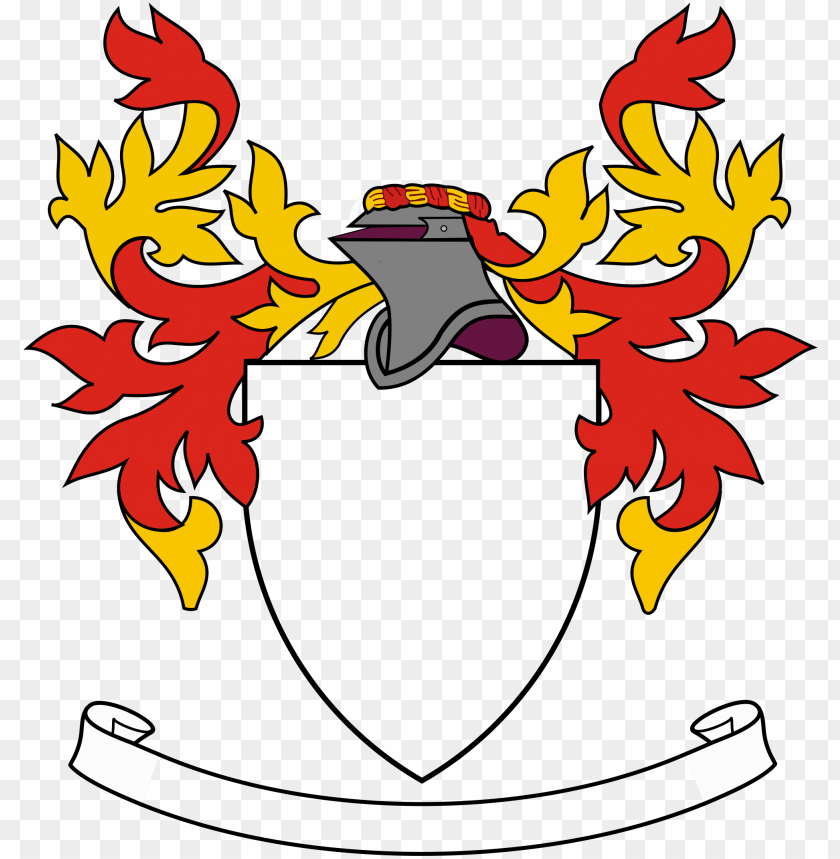It is an image of Printable Coat of Arms intended for outline