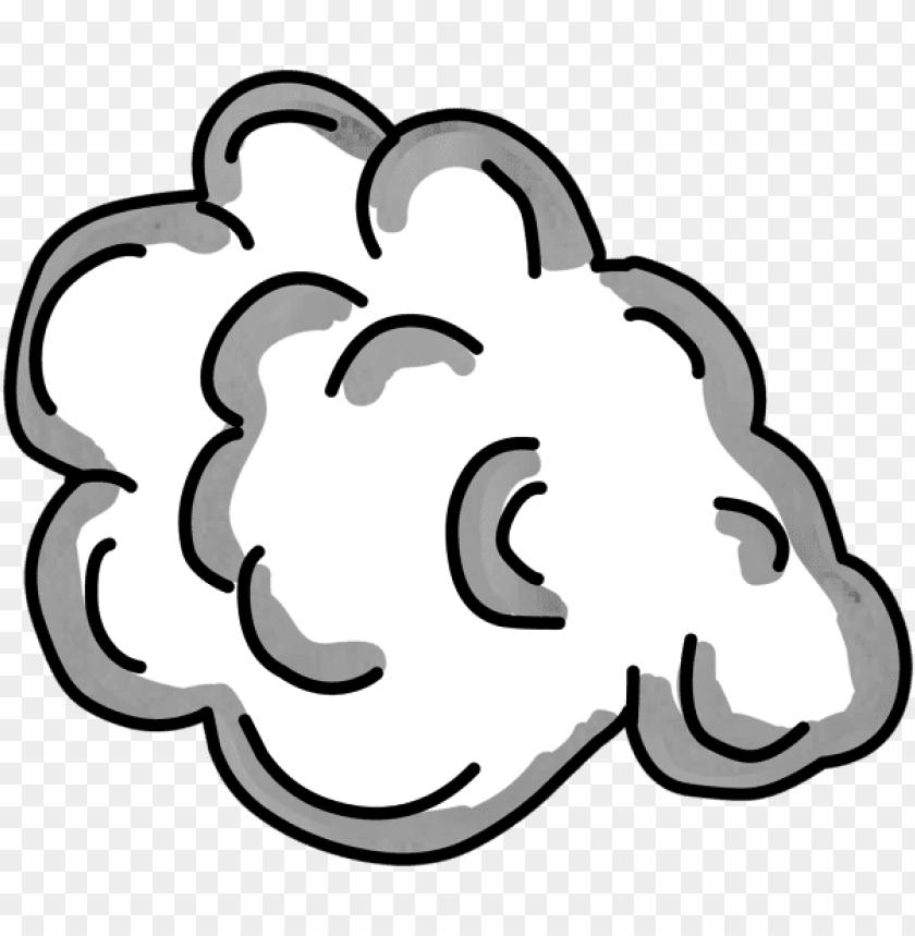 Transparent Smoke Cartoon Transparent Cartoon Smoke Cloud Png Image With Transparent Background Toppng