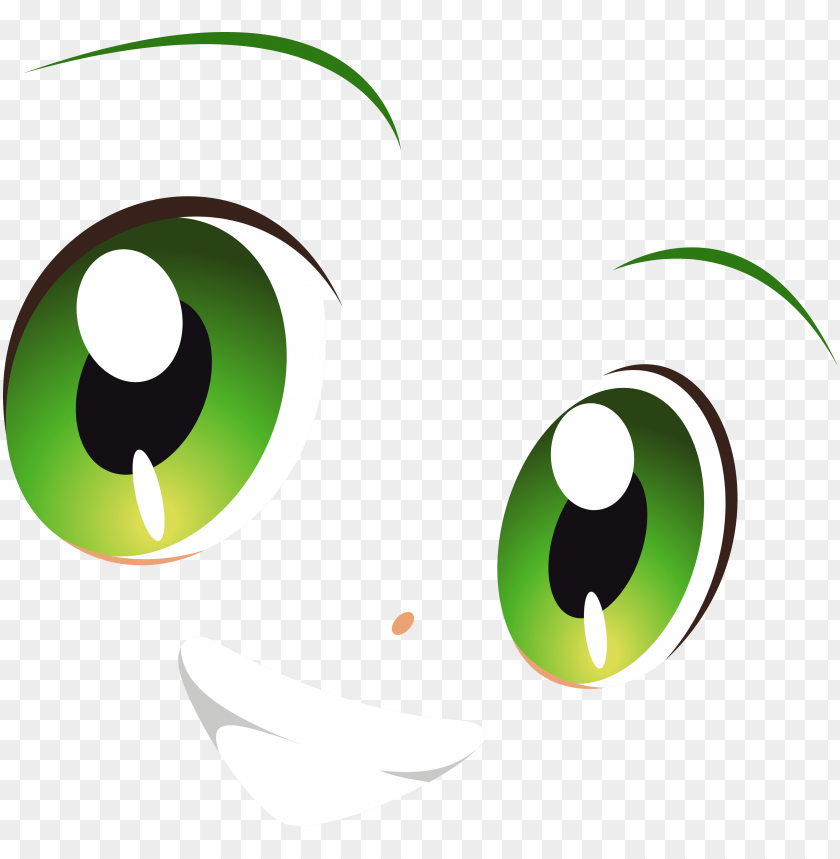 free PNG transparent stock green eyes smile yotsuba by carionto - smile eye logo PNG image with transparent background PNG images transparent