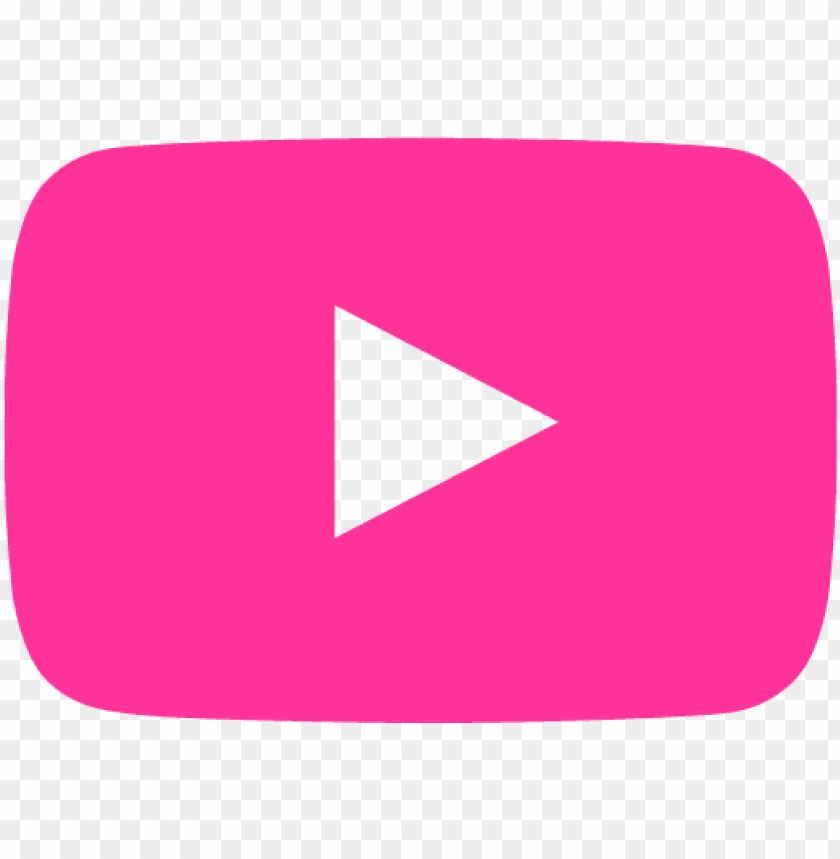 free PNG transparent youtube pink - youtube logo hd PNG image with transparent background PNG images transparent