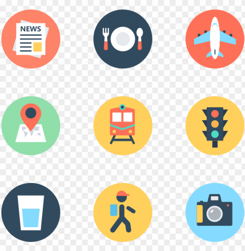 free PNG travel 100 icons - travel icon png circle PNG image with transparent background PNG images transparent