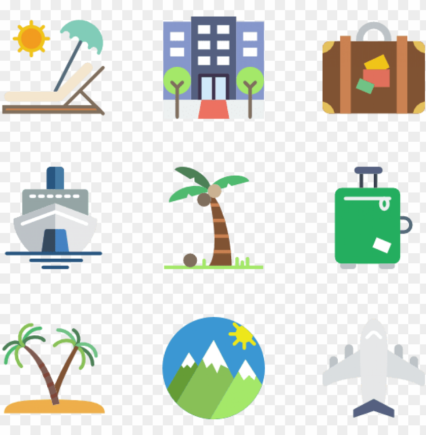 free PNG travel 50 icons - travel package icons PNG image with transparent background PNG images transparent