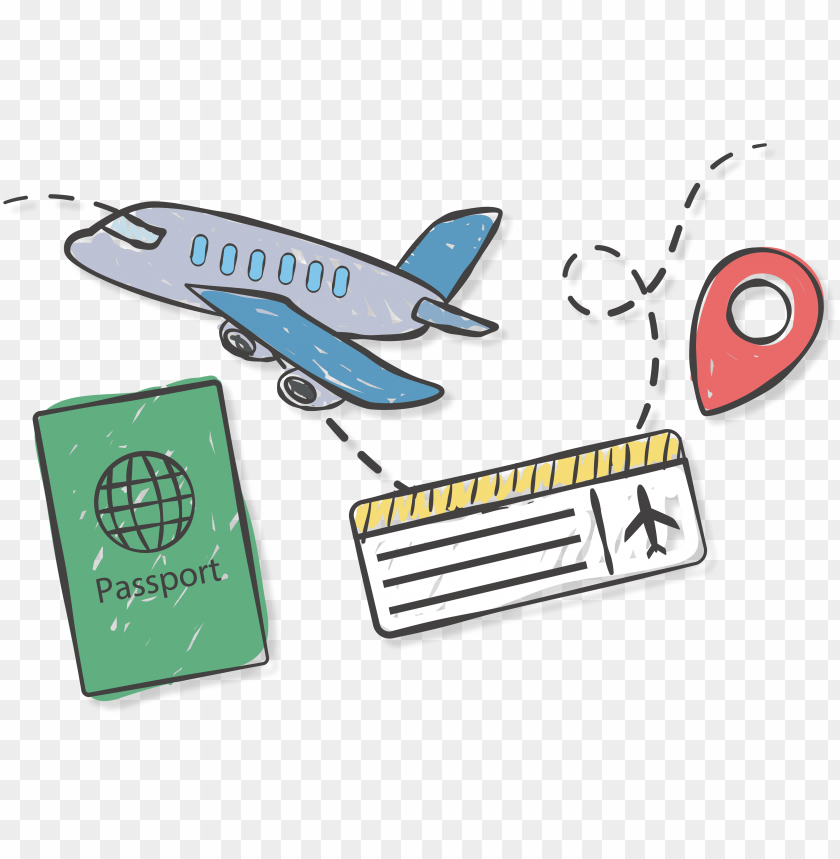 Travel Ticket Png Image With Transparent Background Toppng