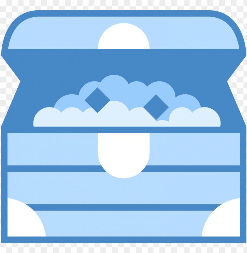 free PNG treasure chest icon - treasure chest icon blue png - Free PNG Images PNG images transparent