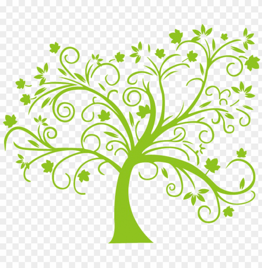 free PNG tree abstract clip art, vector tree abstract - tree vector cdr PNG image with transparent background PNG images transparent