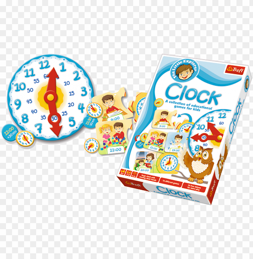 free PNG trefl clock puzzle game - 5900511013306 PNG image with transparent background PNG images transparent