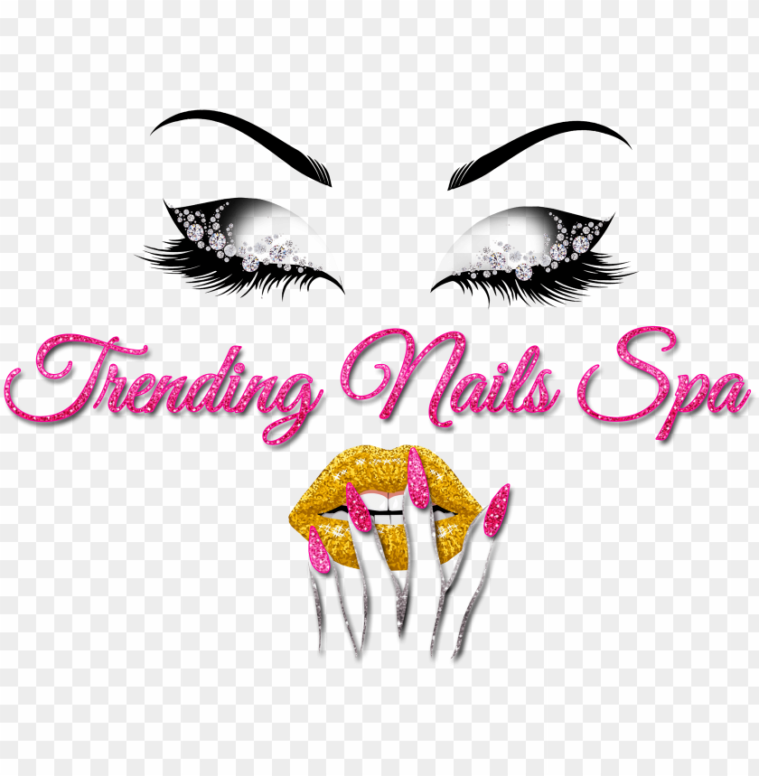 free PNG trending nails spa logo PNG image with transparent background PNG images transparent