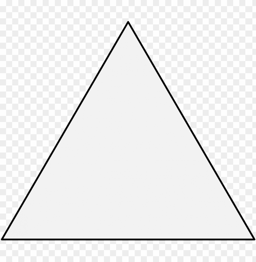 free PNG triangle - black triangle with a white outline PNG image with transparent background PNG images transparent