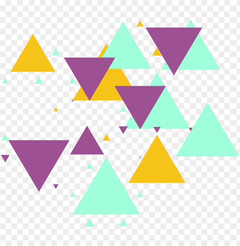 free PNG triangle shape pattern color free geometric shapes - geometric shape shape PNG image with transparent background PNG images transparent