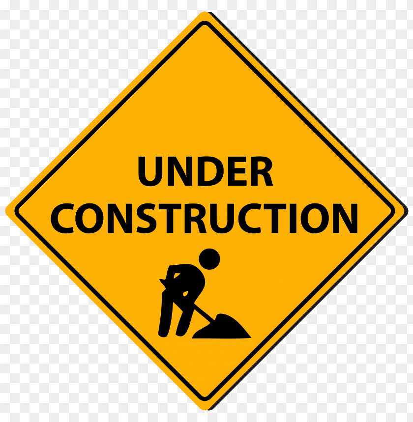 free PNG triangle under construction sign png - Free PNG Images PNG images transparent