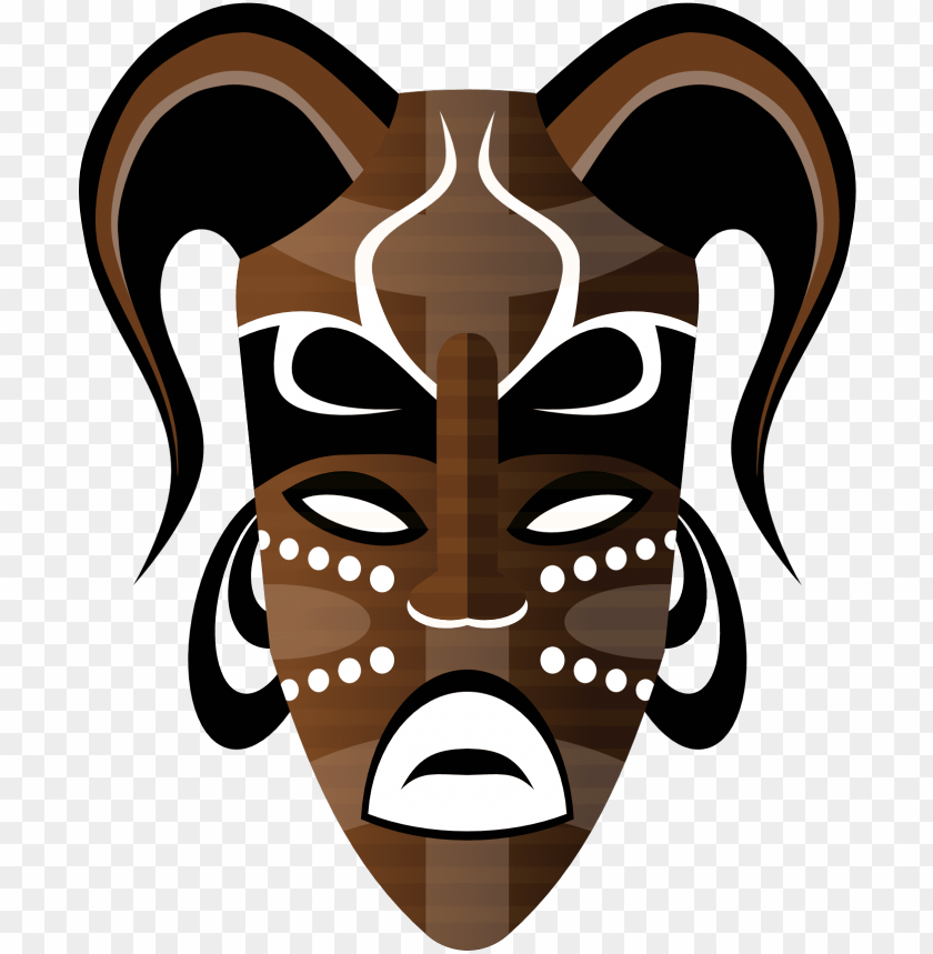 free PNG tribal clipart tribal mask - african tribal masks PNG image with transparent background PNG images transparent