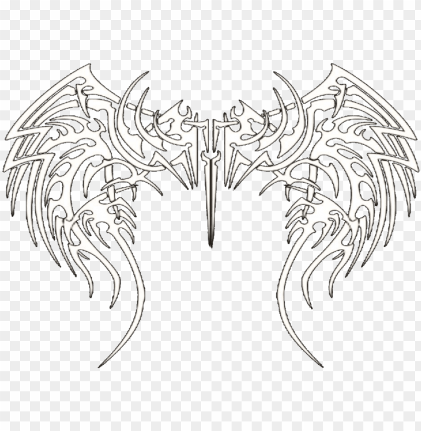 free PNG tribal wings - tribal wings psd PNG image with transparent background PNG images transparent