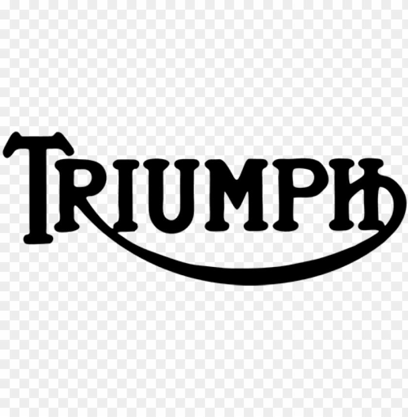free PNG triumph motorcycles logo decal sticker, triumph - triumph PNG image with transparent background PNG images transparent
