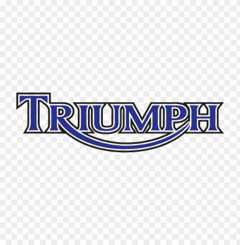 free PNG triumph motorcycles vector logo free download PNG images transparent