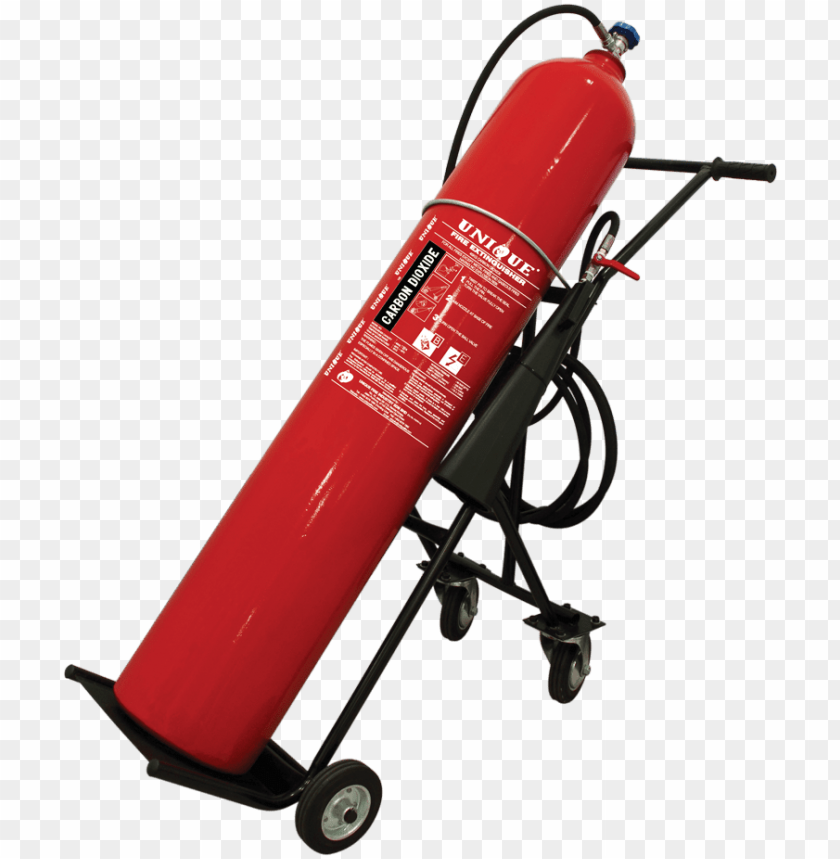 free PNG trolley type carbon dioxide fire extinguisher - 50 kg trolley type co2 fire extinguisher PNG image with transparent background PNG images transparent