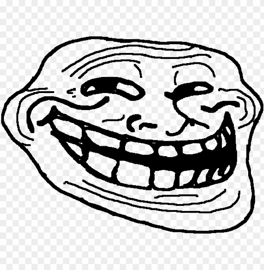 Trollface Troll Face Meme Png Image With Transparent Background Toppng