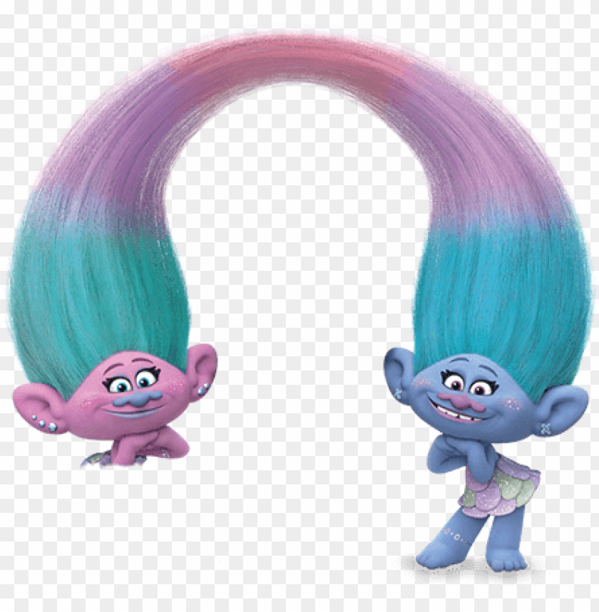 Branch Trolls Satin And Chenille Png Image With Transparent Background Toppng