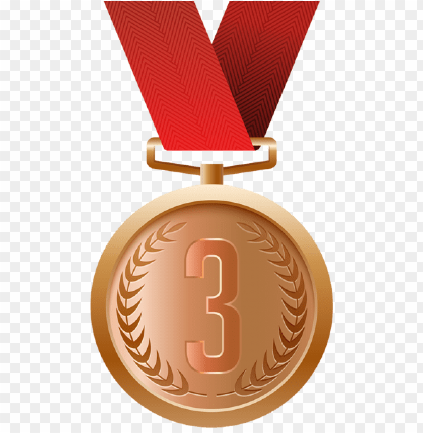 free PNG trophies and medals, certificate, logo design, clip - bronze medal clipart PNG image with transparent background PNG images transparent