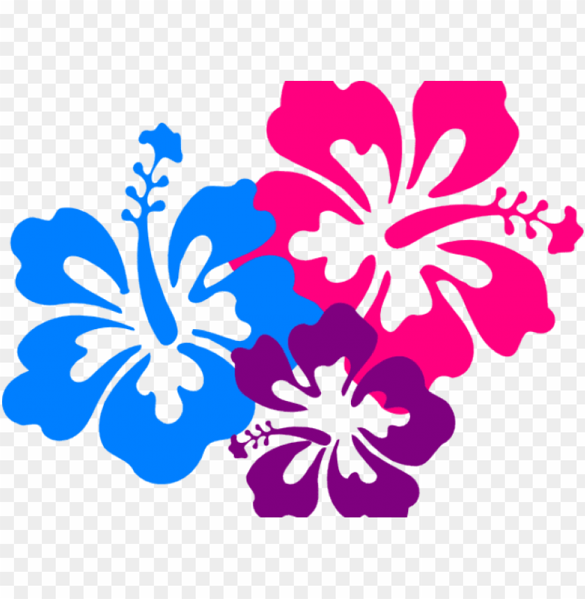 Tropical Flowers Clipart Clip Art Hawaii Flower Png Image With Transparent Background Toppng