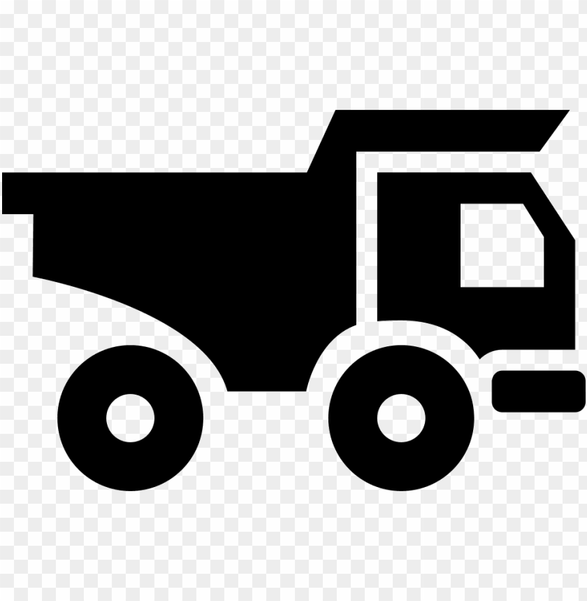 free PNG truck for materials transport - construction truck icon transparent png - Free PNG Images PNG images transparent
