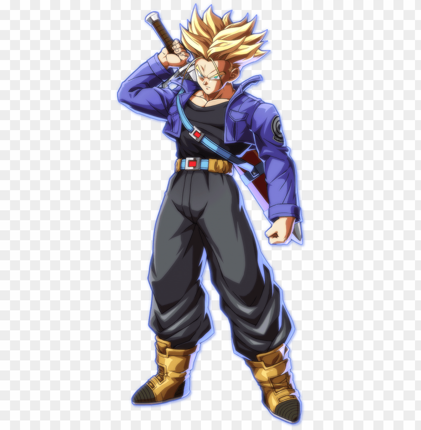 free PNG trunks db fighterz - trunks dragon ball fighterz PNG image with transparent background PNG images transparent