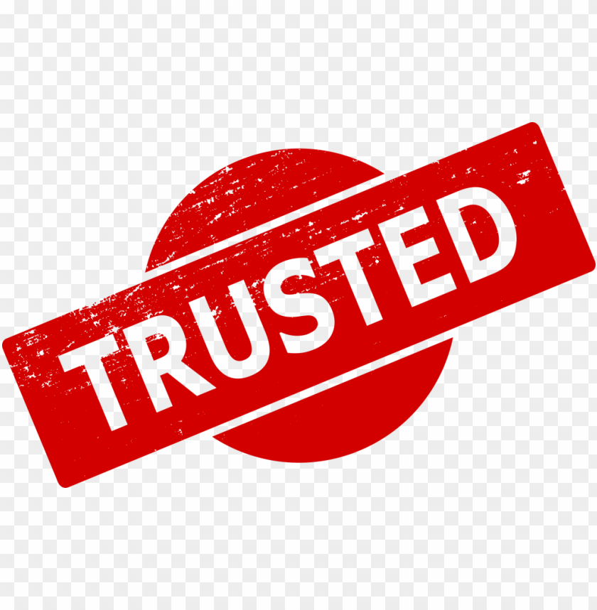 free PNG Trusted Stamp png - Free PNG Images PNG images transparent