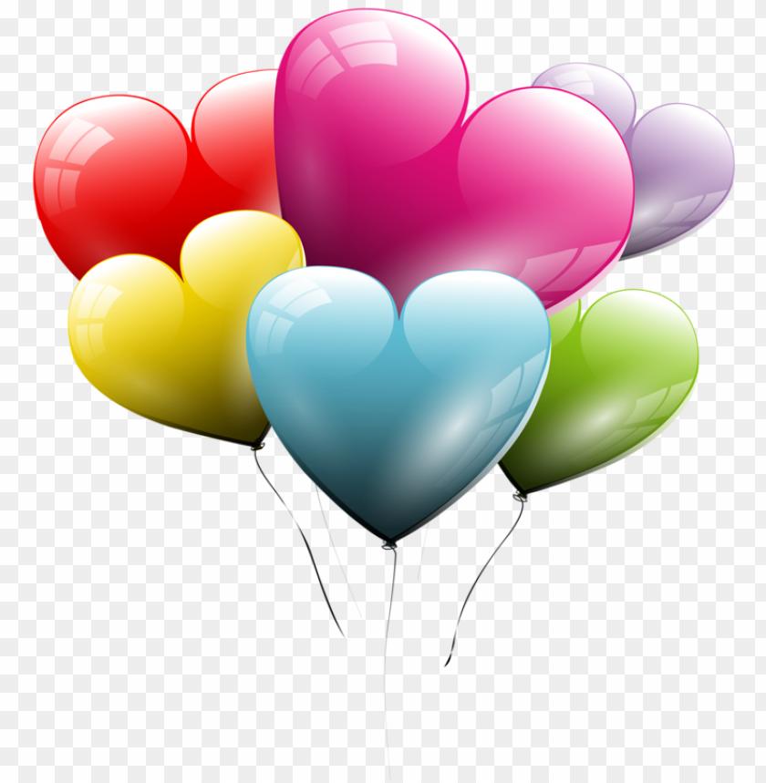 free PNG tubes st-valentin balloon clipart, balloon box, heart - hearts balloons transparent background PNG image with transparent background PNG images transparent
