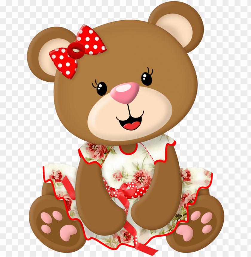 Tubes Ursinhos Urso Em Eva Urso De Pelucia Ursos Desenhos De