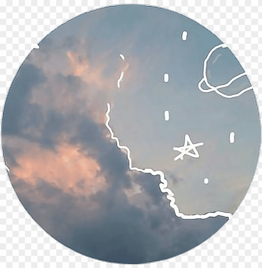 free PNG tumblr aesthetic pastel space stars moon png aesthetic - aesthetic pastel space PNG image with transparent background PNG images transparent