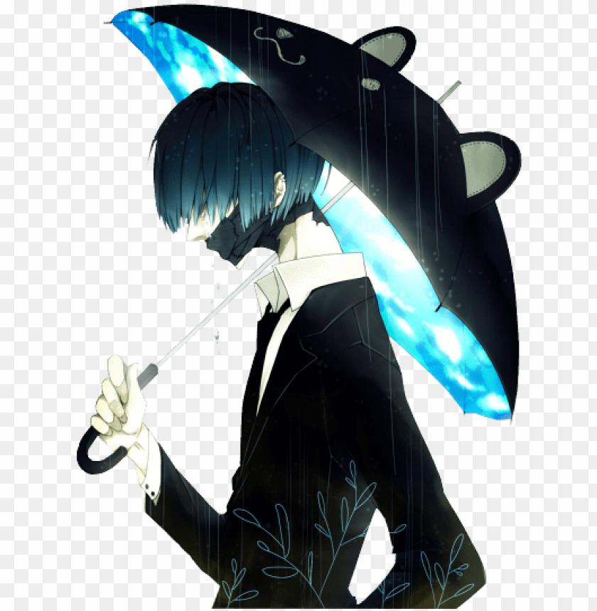 free PNG tumblr static sad anime guy render shoumou mnyht png - anime with black mask PNG image with transparent background PNG images transparent