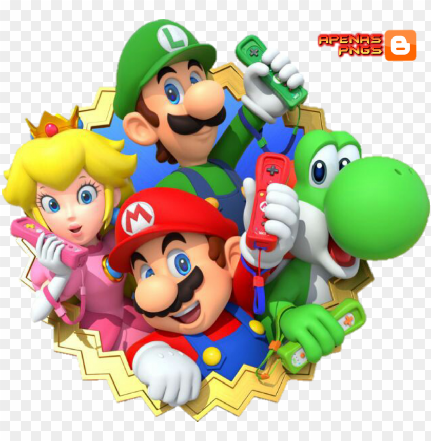 free PNG turma super mario png - super mario bros PNG image with transparent background PNG images transparent