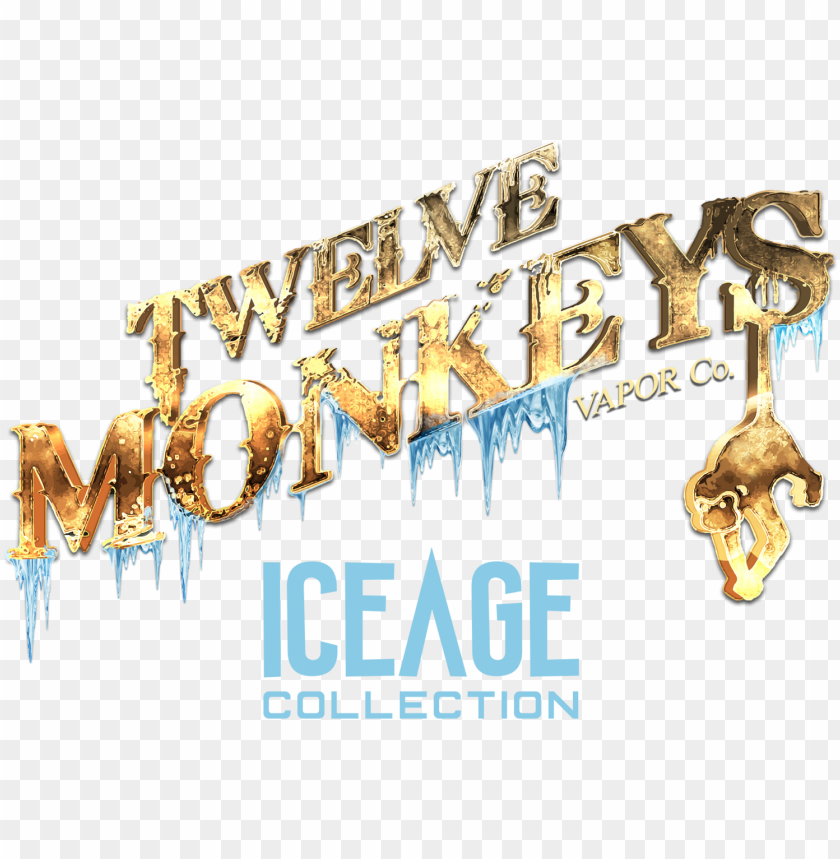 free PNG twelve monkeys ice age - 12 monkeys ice age PNG image with transparent background PNG images transparent