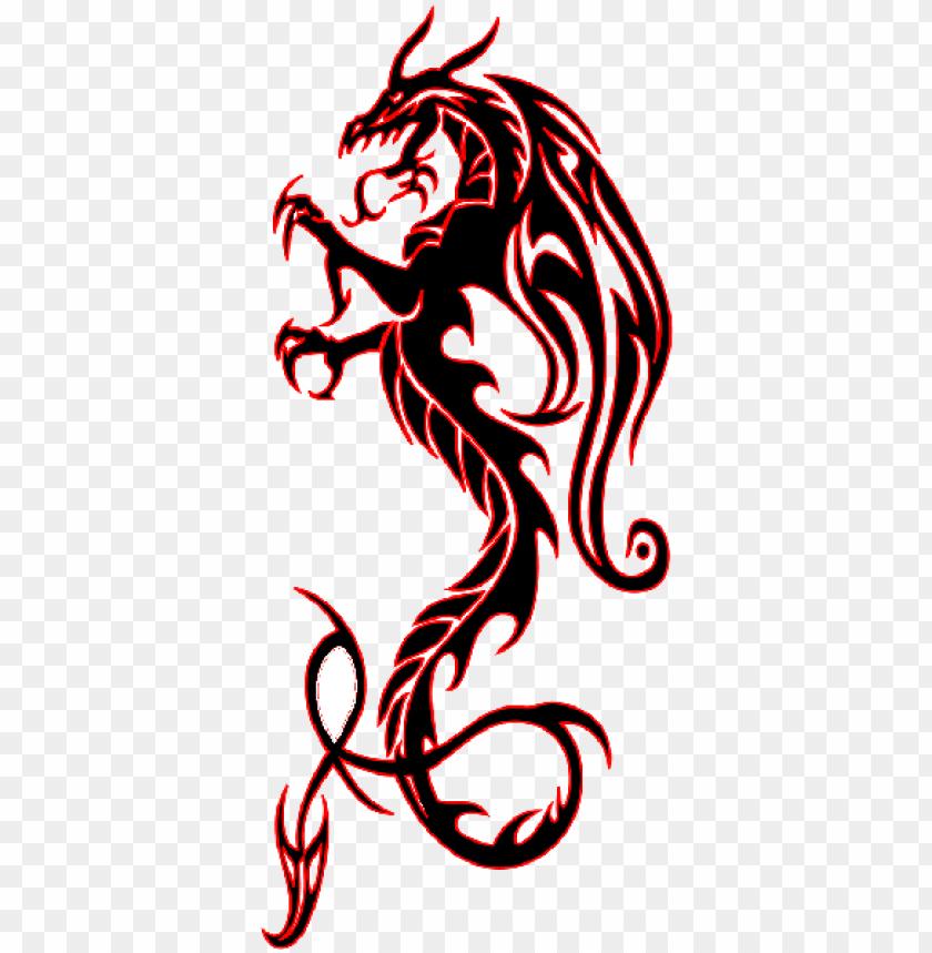Design dragon tribal tattoo 50+ Irish