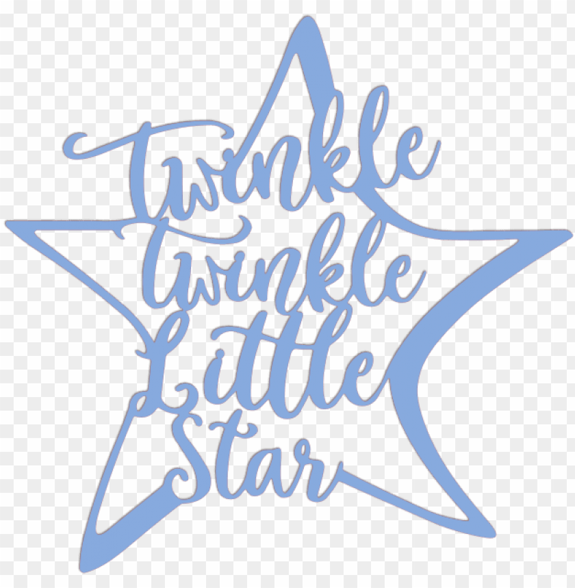 free PNG twinkle twinkle little star metal art - svg cut twinkle twinkle little star svg file free PNG image with transparent background PNG images transparent