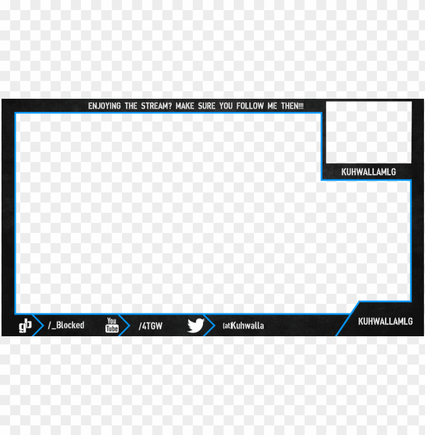 free PNG twitch overlay with webcam PNG image with transparent background PNG images transparent