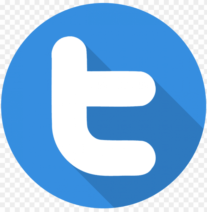 free PNG twitter flat shadow logo icon - twitter t icon png - Free PNG Images PNG images transparent