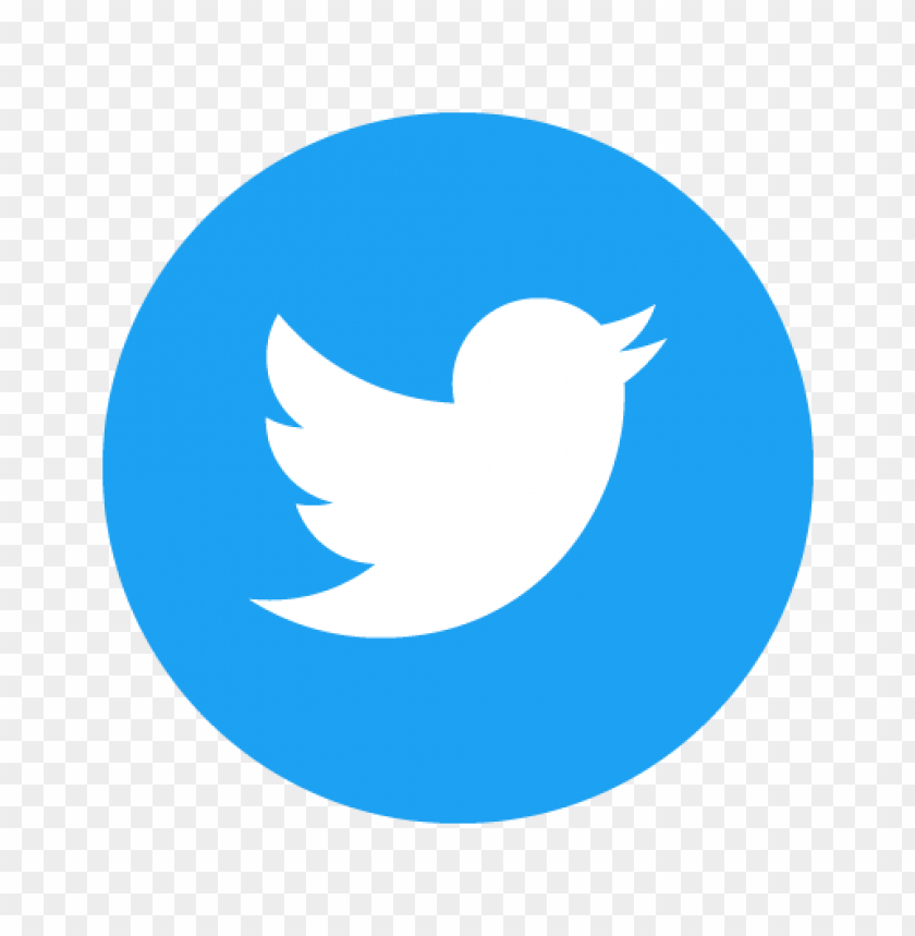free PNG twitter icon circle (blue) vector PNG images transparent