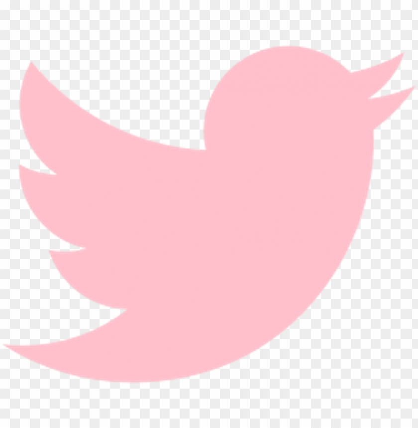 free PNG twitter logo icon bird pink freetoedit - pink twitter logo PNG image with transparent background PNG images transparent