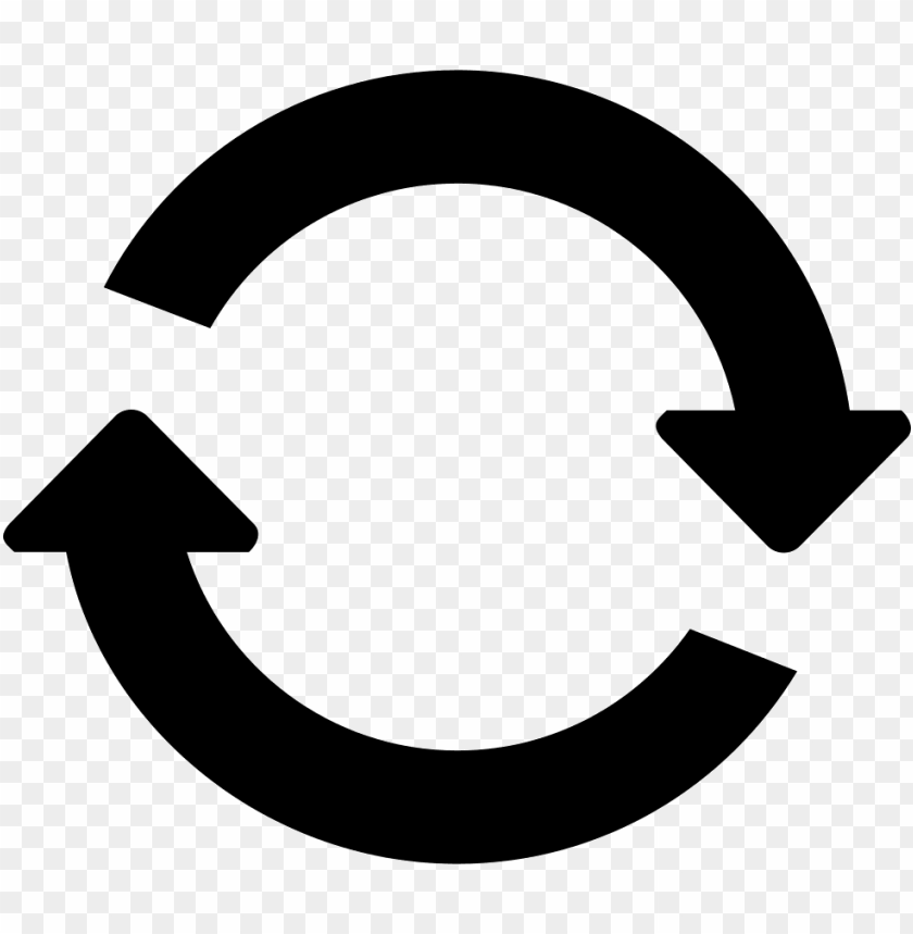 free PNG two clockwise circular rotating arrows circle comments - circle with 2 arrows PNG image with transparent background PNG images transparent