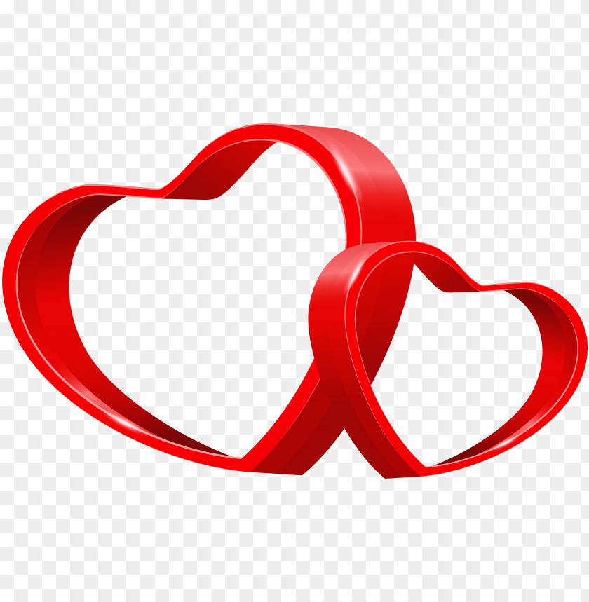 Two Hearts Transparent Image Corazones De Amor Vector Png Image