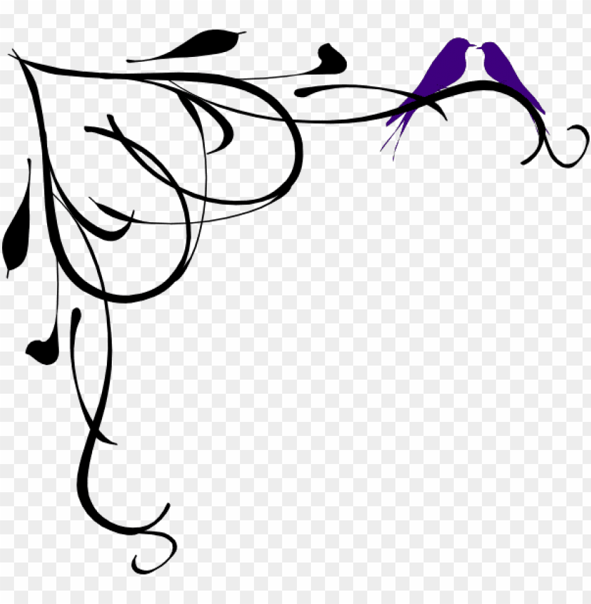 Two Love Birds Black And White Png Image With Transparent Background Toppng