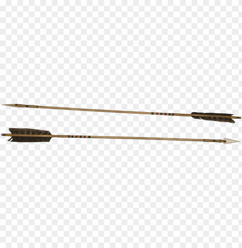 free PNG two old indian arrows by archangelical - old indian arrows PNG image with transparent background PNG images transparent