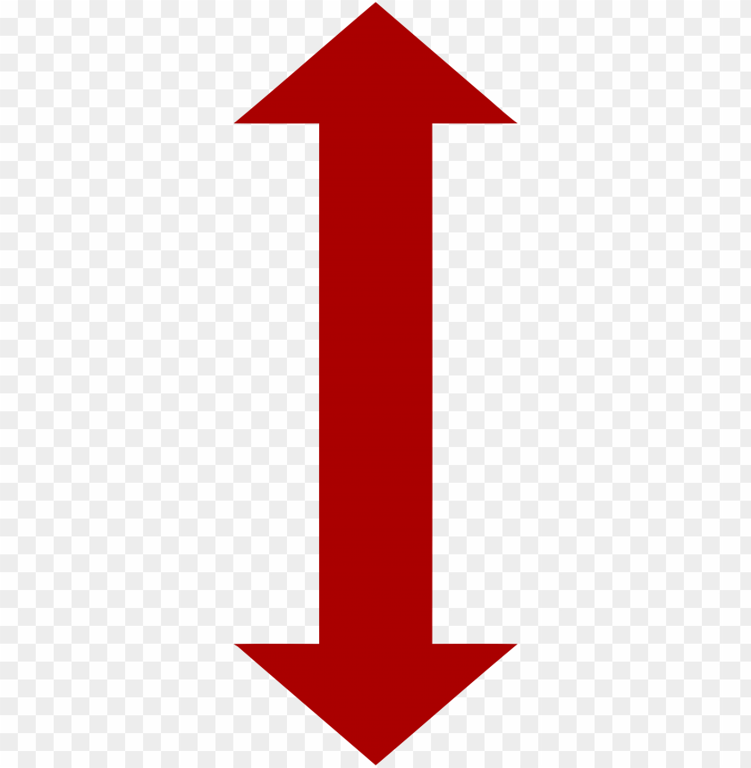 Two Way Red Arrow Png Image With Transparent Background Toppng