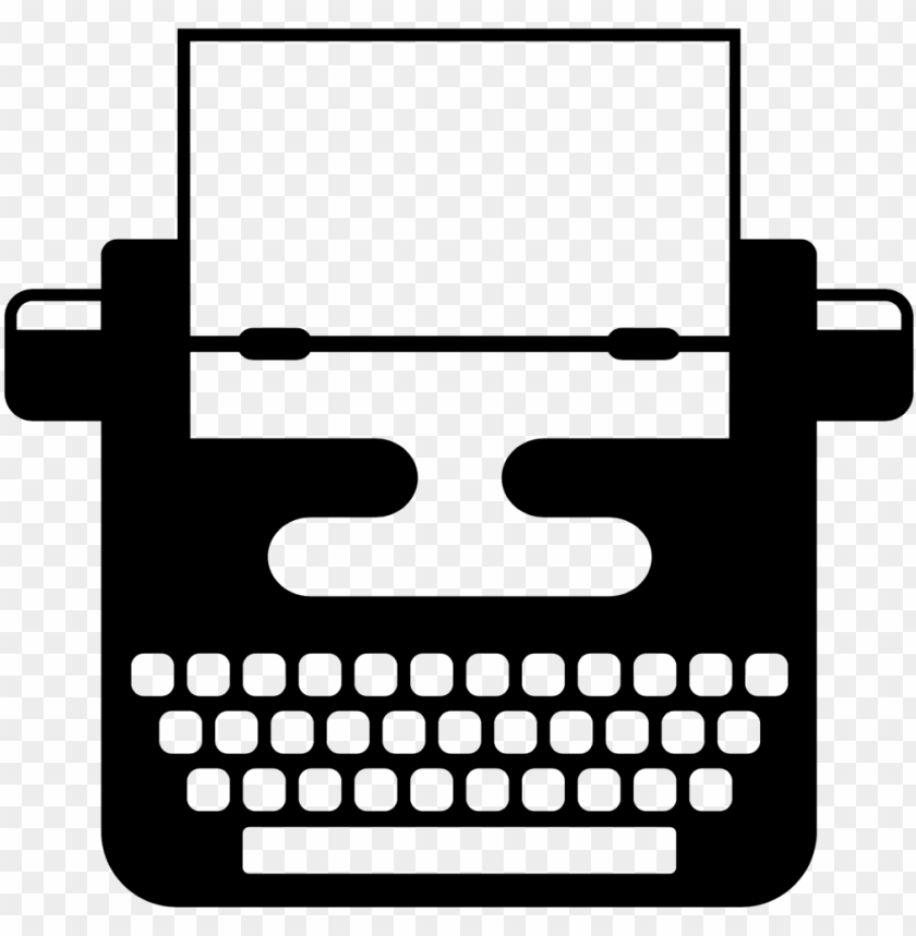 free PNG typewriter clipart simple - typewriter vector PNG image with transparent background PNG images transparent