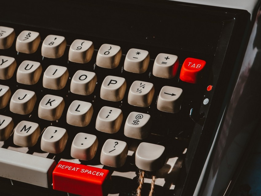 free PNG typewriter, keys, keyboard, device, typography background PNG images transparent